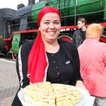 "Встреча ""Чайного Экспресса"" на вокзале в Назрани"