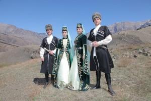 В горной Ингушетии