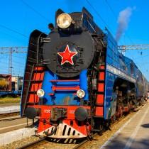 Ретро - поезд